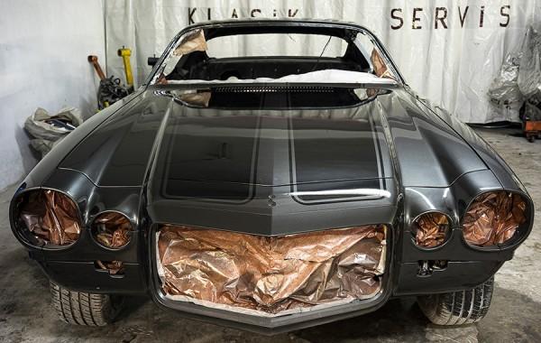 1973 Cehvrolet Camaro Restorasyonu