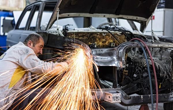 1970 Mercedes 300 SEL Restorasyonu